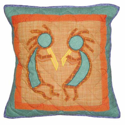 Patch Magic Kokoepelli Toss Pillow
