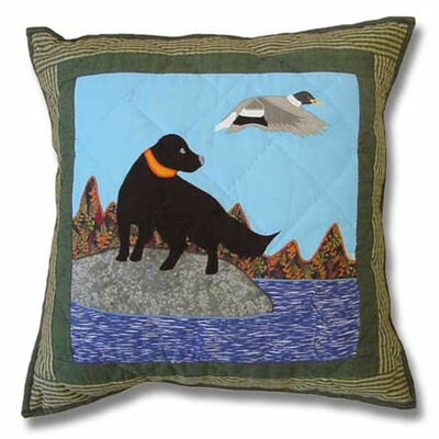 Patch Magic Mallard Dog Toss Pillow