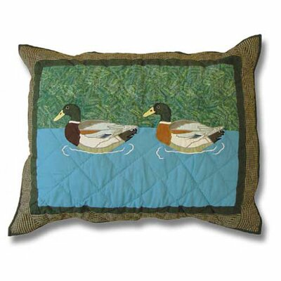 Patch Magic Mallard Standard Pillow Sham
