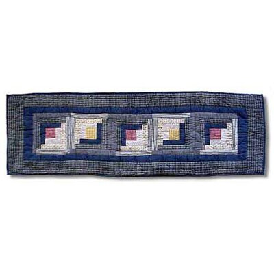 Patch Magic Sail Log Cabin Table Runner
