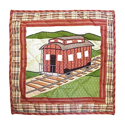 Patch Magic Train Toss Pillow