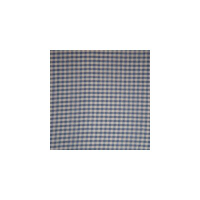 Patch Magic Blue and Ecru Gingham Checks Pillow Sham