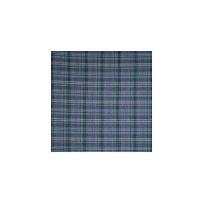 Navy and Light Blue Plaid Pillow Sham