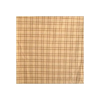Patch Magic Dark Brown Plaid Toss Pillow