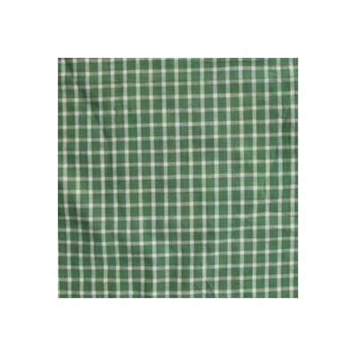 Patch Magic Green White Checks Pillow Sham