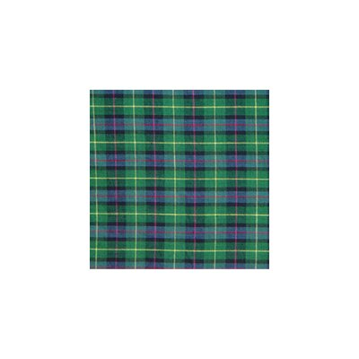 Green Tartan Plaid Toss Pillow
