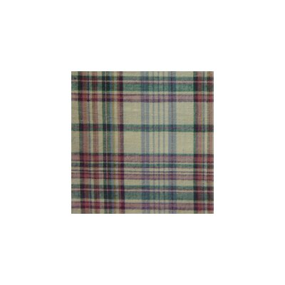 Patch Magic Cream Plaid Cotton Curtain Panel  (Set of 2)