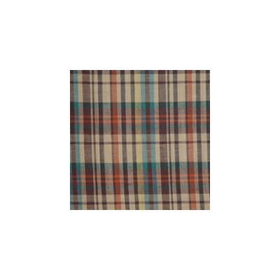 Multi Brown and Tan Plaid Euro Sham