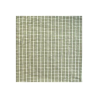 Patch Magic Green Forest - Checks with Ecru Pillow Sham