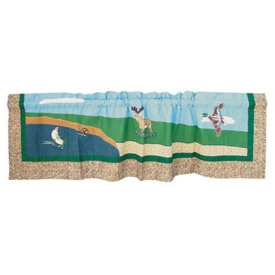 Patch Magic Wilderness Cotton Curtain Valance
