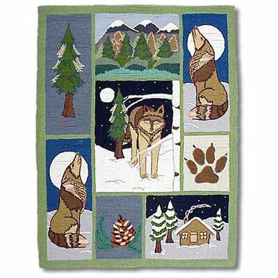 Patch Magic Wolf Kids Rug