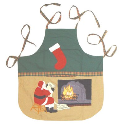 Patch Magic Santa By The Fireside Apron