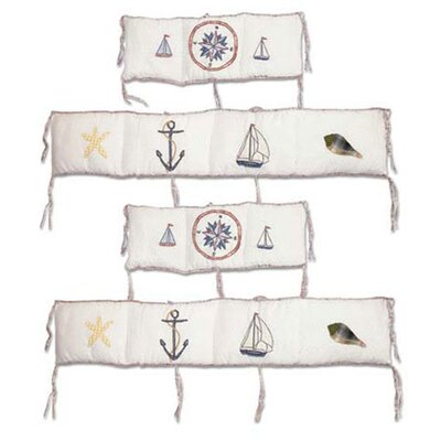 Patch Magic Nautical 4 Piece Bumper Pad Set