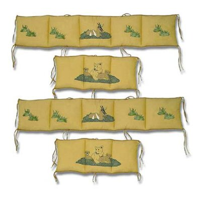 Patch Magic Safari 4 Piece Bumper Pad Set