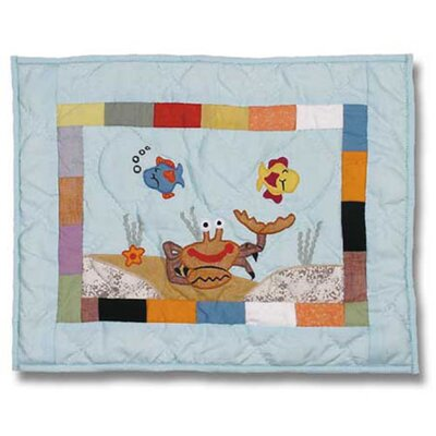 Kids Aquarium Crib Toss Pillow