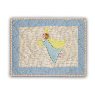 Patch Magic Flying Angels Cotton Crib Toss Pillow