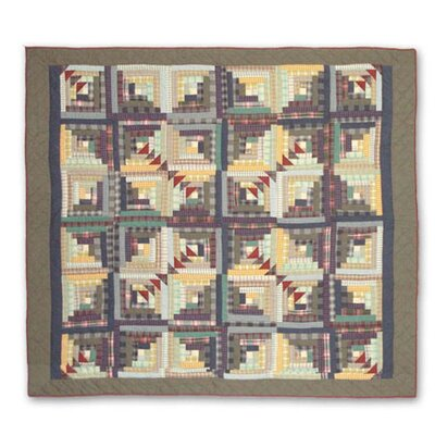 Patch Magic Wild Goose Log Cabin Duvet Cover