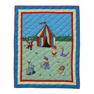 Circus Cotton Throw
