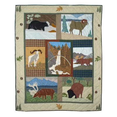 Patch Magic Rocky Mountain Cotton Throw