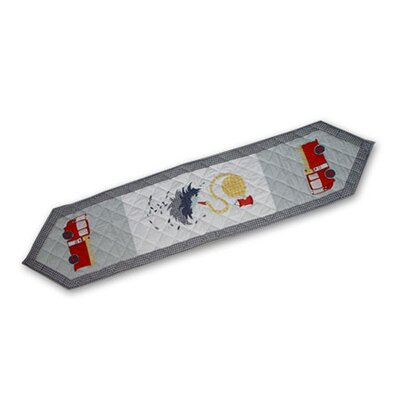 Patch Magic Fire Truck Table Runner