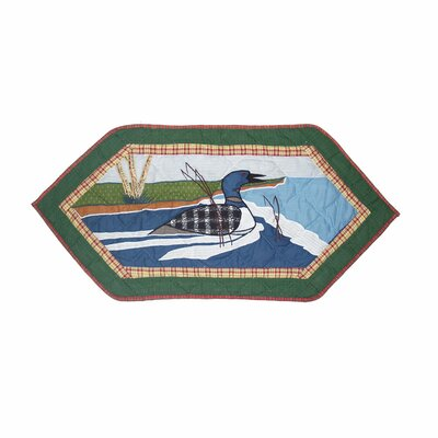 Patch Magic Loon Table Runner