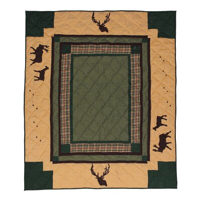 Elk Trail Cotton Throw