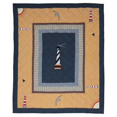 Patch Magic Lighthouse Trail Cotton Throw