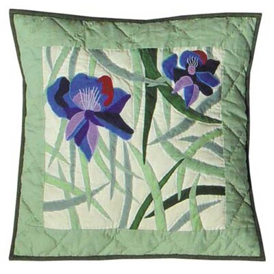 Iris Cotton Pillow