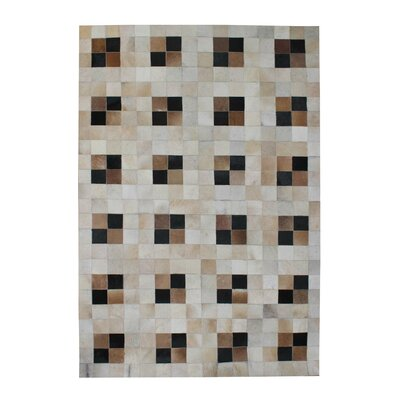 Coffee Toffee Geomatric Rug