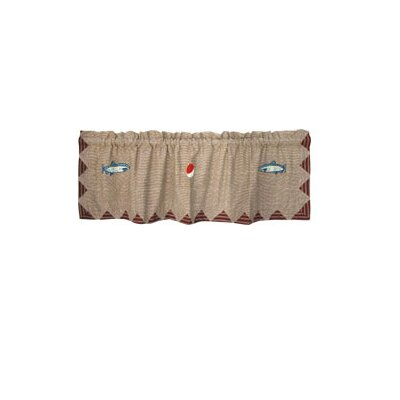 Patch Magic Gone Fishing Cotton Curtain Valance