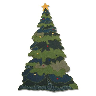 Patch Magic Santa By The Fireside Kids Rug