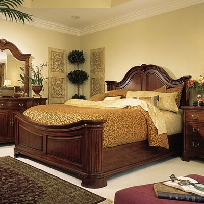 American Drew Grove Mansion Panel Bed