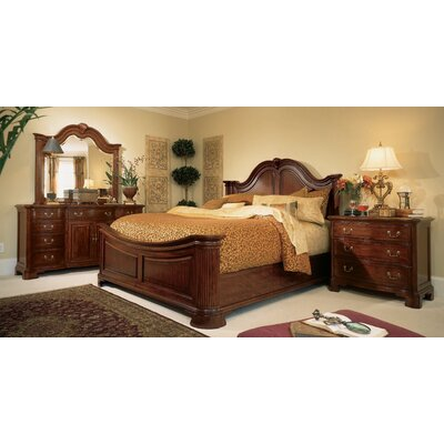 Cherry grove panel bedroom collection wayfair - American drew cherry bedroom set ...