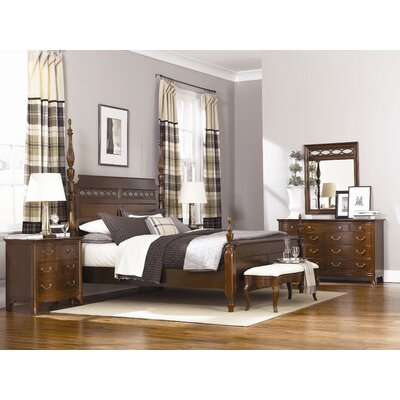 American Drew Grove New Generation Four Poster Bed