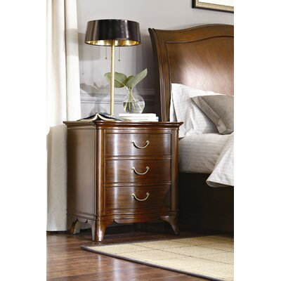 American Drew New Generation 3 Drawer Nightstand
