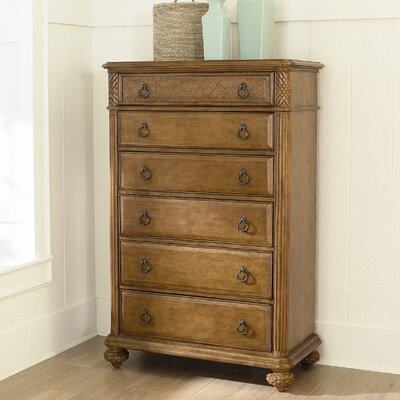 American Drew Grand Isle 6 Drawer Chest