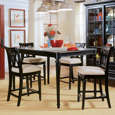 American Drew Camden 5 Piece Counter Height Dining Set
