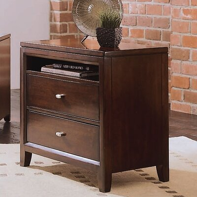 American Drew Tribecca 2 Drawer Nightstand
