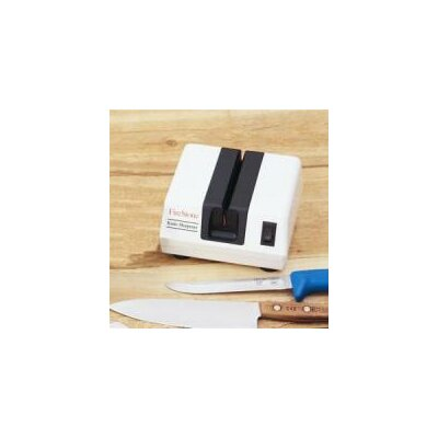 McGowan FireStone Electric Knife Sharpener in White