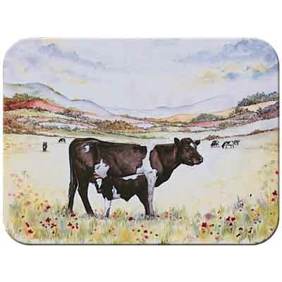 McGowan Tuftop Cow and Calf Cutting Board