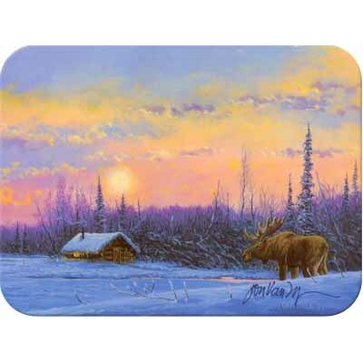 Tuftop Vanzyle-Moose and Cabin Cutting Board