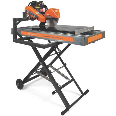 Husqvarna Super Tilematic TS 250 XL3 Electric Tile Saw with Galvanized Steel Pan