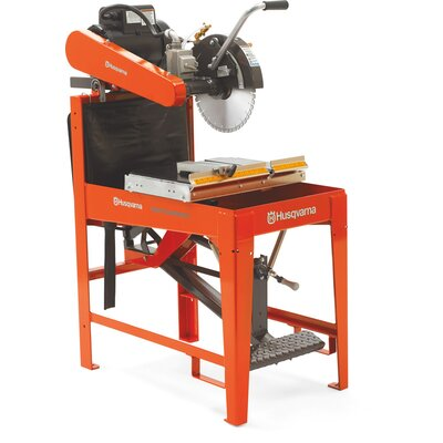 "Husqvarna Guardmatic 13 HP 20"" Blade Capacity Gas Masonry Saw with Cluth"