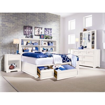 Lea Industries Elite Reflections Bookcase Bed Headboard Only