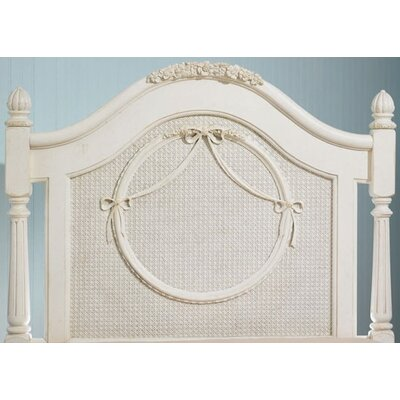 Lea Industries Emma's Treasures Low Poster Headboard and Metal Frame with Casters