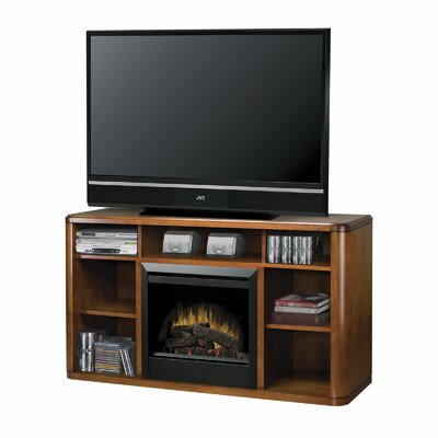 "Dimplex Logan 62"" TV Stand with Electric Fireplace"