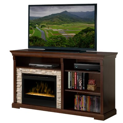 Edgewood TV Stand with Electric Ember Bed Fireplace