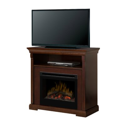 Thorton Media Console Electric Log Fireplace