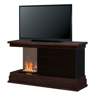 Debenham Left Media Console Electric Fireplace