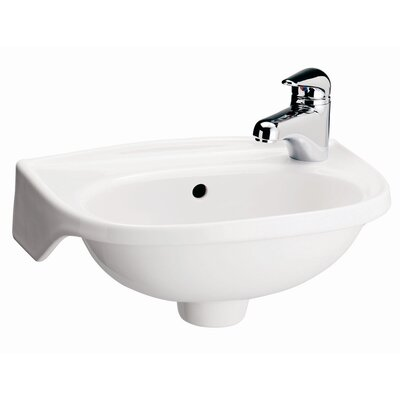Tina Single Hole Wall Mount Bathroom Sink - 4-551
